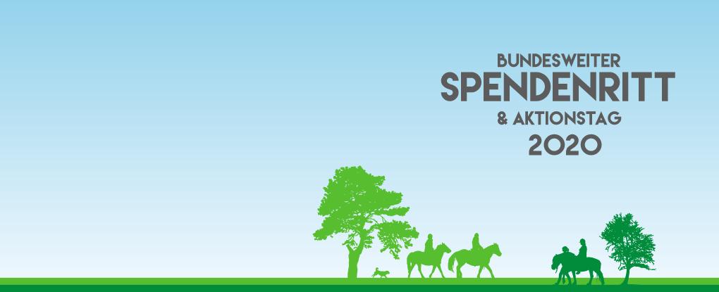 Nimm teil am Spendenritt 2020 am 9./10. Mai 2020
